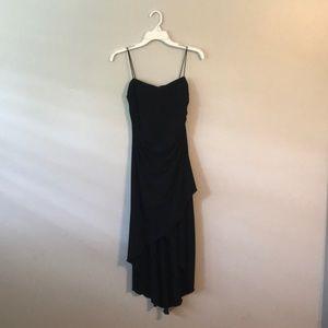 High to low black dress size medium.